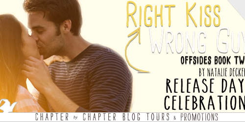 Release Day Celebration:  Right Kiss Wrong Guy by Natalie Decker with Giveaway