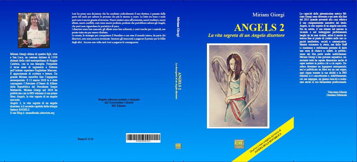 Cover Reveal: Angels 2, la vita segreta di un Angelo disertore.