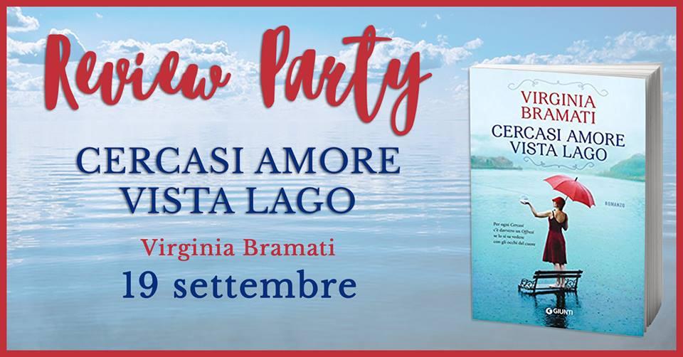 Review Party - Cercasi amore vista lago di Virginia Bramati