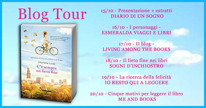Blog Tour - C'è sempre un lieto fine di Charlotte Lucas - 5 motivi per leggere il libro
