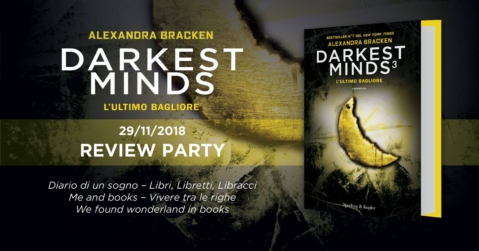 Review Party - Darkest Minds 3: l'ultimo bagliore di Alexandra Bracken