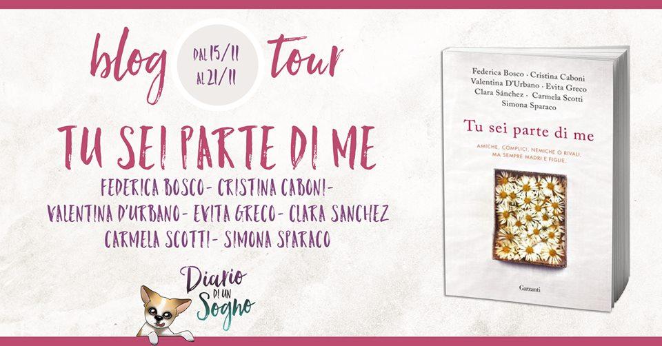 Blog Tour - Tu sei parte di me - Carmela Scotti