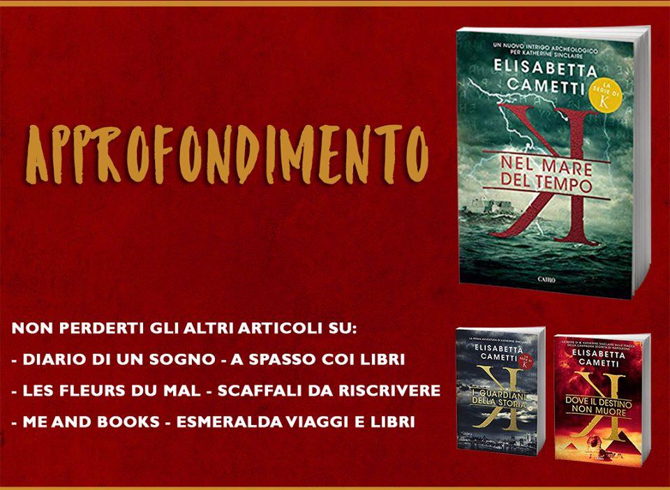 Blogtour - Nel mare del tempo di Elisabetta Cametti - I personaggi