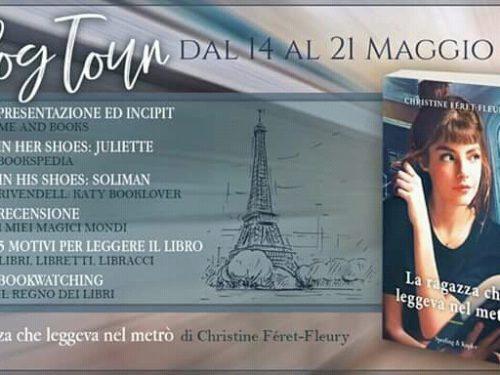 Blogtour – La ragazza che leggeva nel metrò di Cristine Féret-fleury – 1° tappa – Presentazione e Incipit