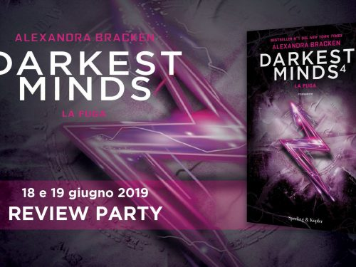 Review Party – Darkest Minds 4: la Fuga di Alexandra Bracken