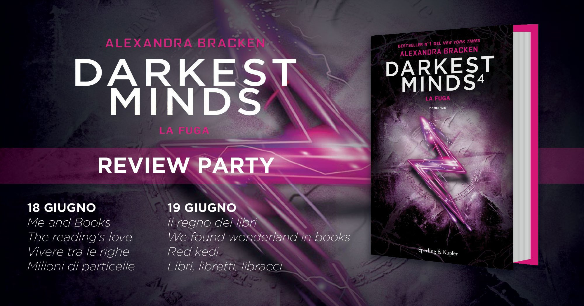 Review Party - Darkest Minds 4: la Fuga di Alexandra Bracken