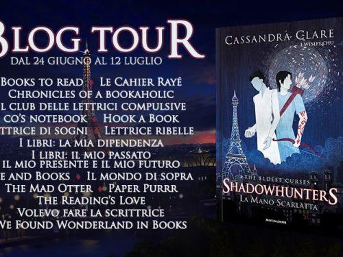 Blog Tour – La mano scarlatta di Cassie Clare – I viaggi di Alec e Magnus