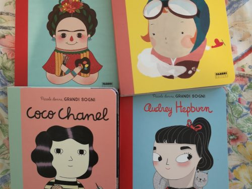Piccole donne, grandi sogni: Audrey Hepburn, Coco Chanel, Amelia Earhart e Frida Kahlo