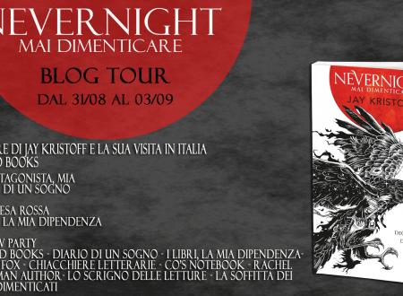 Blogtour – Nevernight: Mai Dimenticare di Jay Kristoff – L'autore e la sua visita in Italia