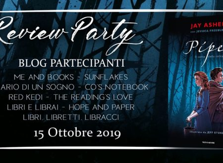 Review Party – Piper di Jay Asher e Jessica Freeburg