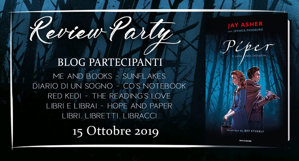Review Party - Piper di Jay Asher e Jessica Freeburg