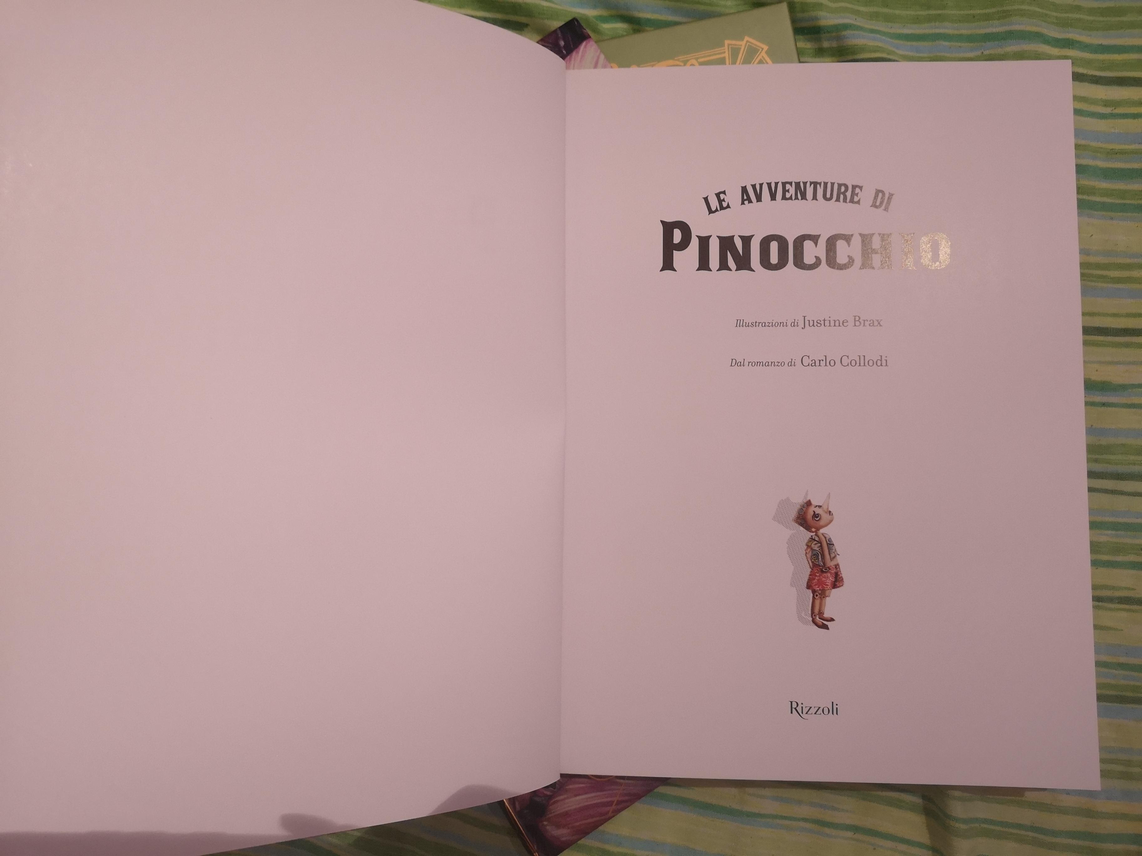 Pinocchio di Carlo Collodi e Justine Brax