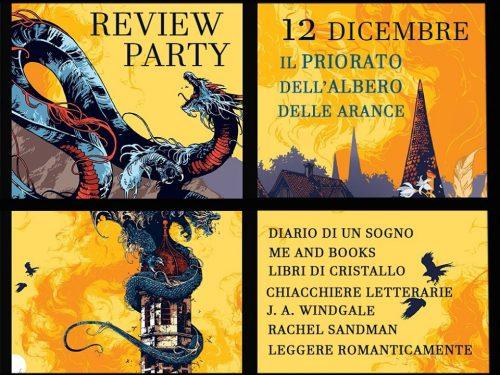 Review party – Il priorato dell'albero delle arance di Samantha Shannon
