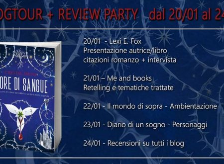 Review Party – Fiore di Sangue di Crystal Smith