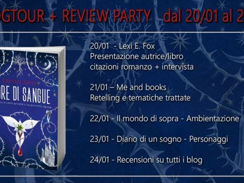 Blog tour – Fiore di sangue di Crystal Smith – Retelling e tematiche trattate