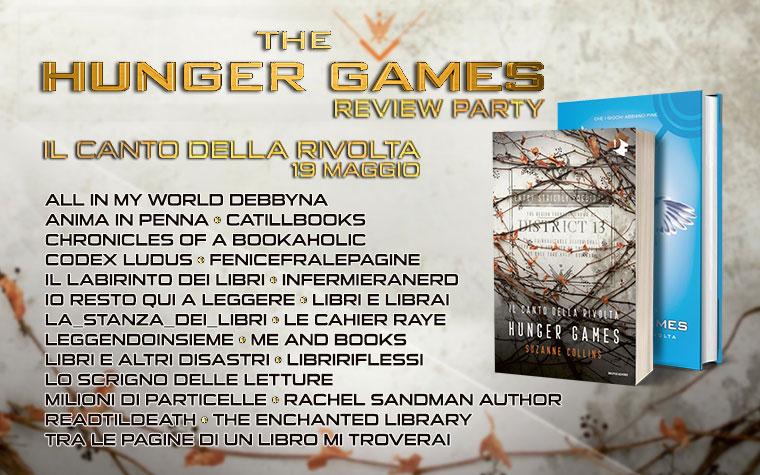 Review Party - Hunger Games: il canto della rivolta di Suzanne Collins