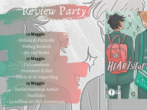 Review Party – Heartstopper di Alice Osman