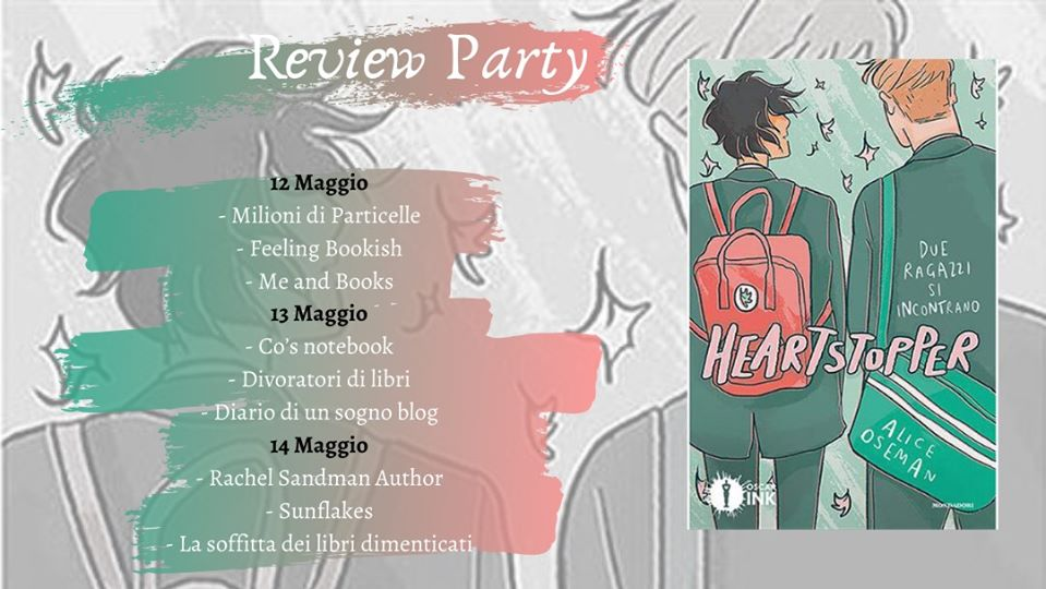 Review Party - Heartstopper di Alice Osman