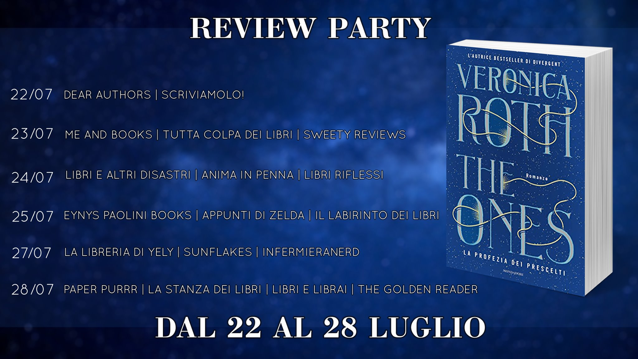 Review Party - The ones: la profezia dei prescelti di Veronica Roth