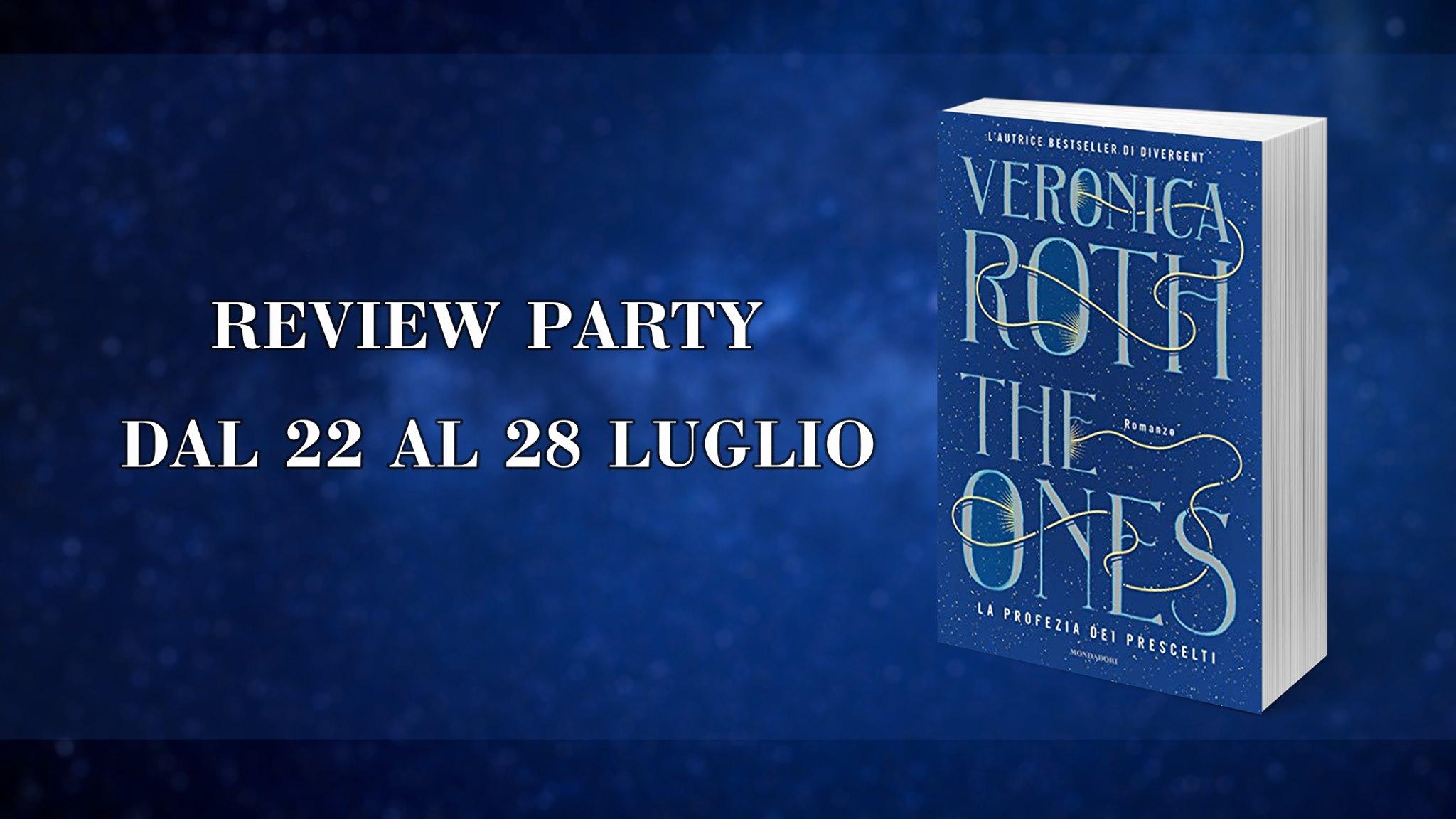 Review Party - The ones: la profezia dei prescelti di Veronica Roth