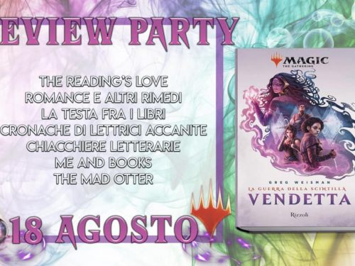 Review Party – Vendetta di Greg Weisman
