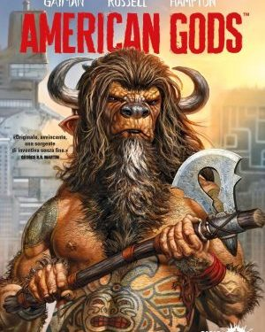 American Gods 1 di Neil Gaiman |graphic novel|