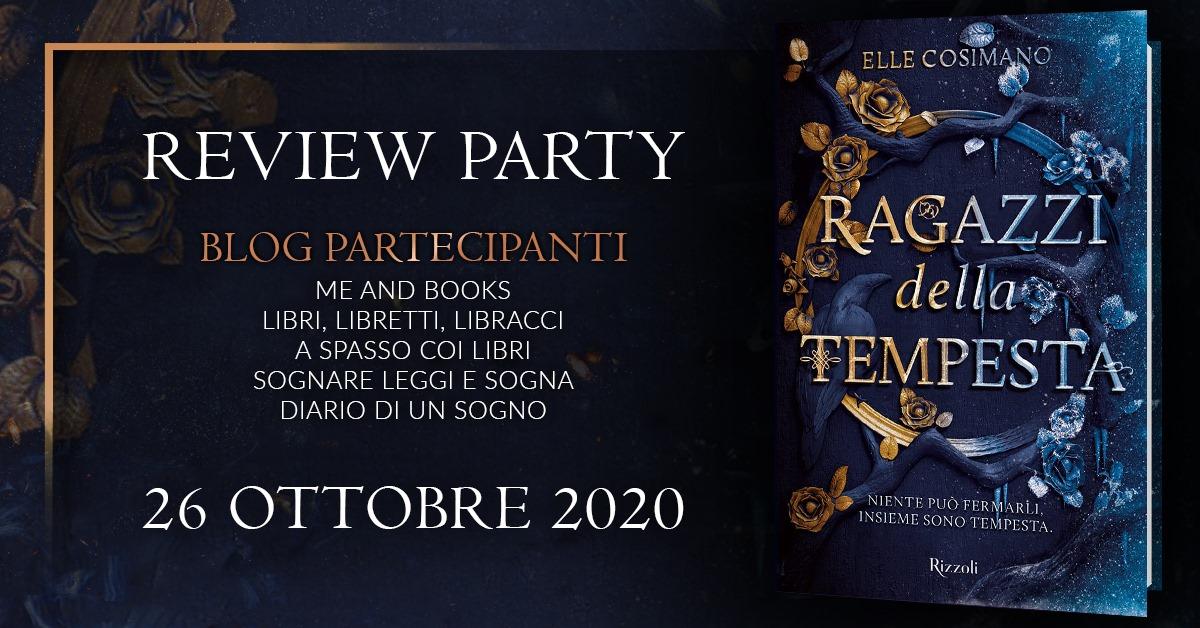 Review Party - Ragazzi della tempesta di Elle Cosimano
