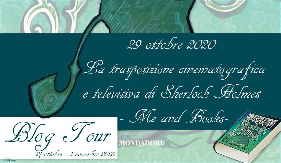 Blogtour - Il grande libro dei racconti di Sherlock Holmes - trasposizioni cinematografiche e televisive
