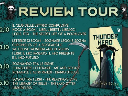 Review Party – Thunderhead di Neil Shusterman