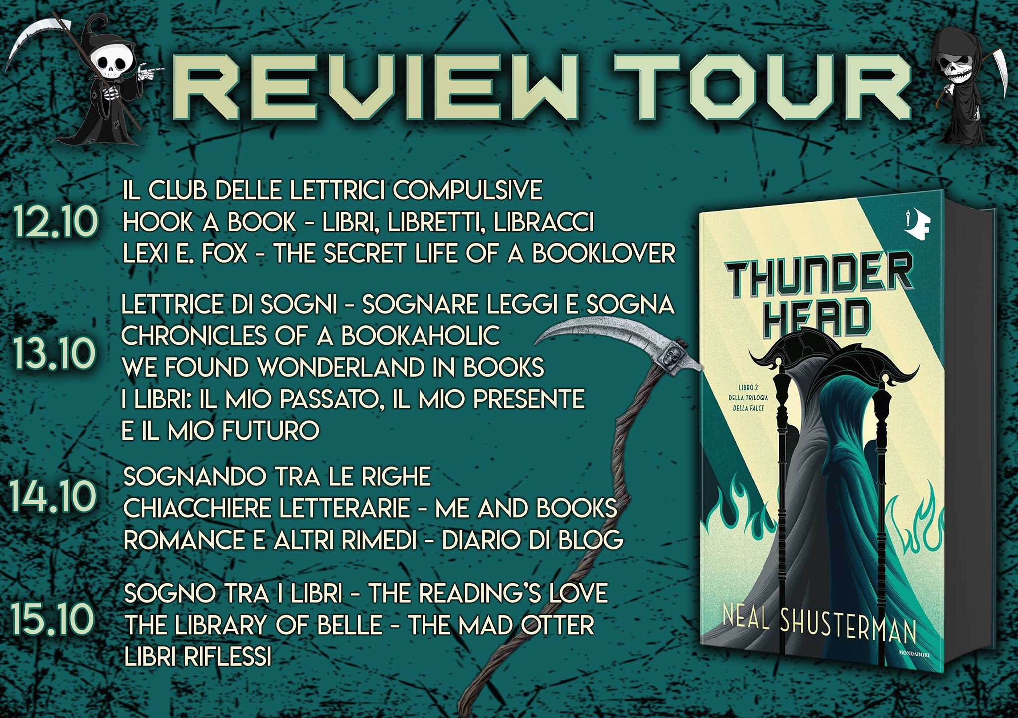 Review Party - Thunderhead di Neil Shusterman