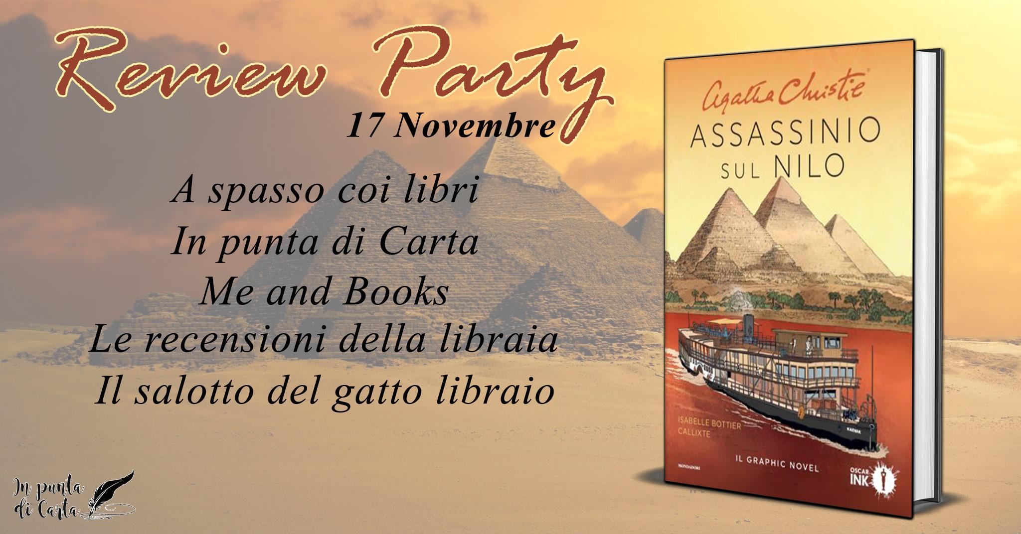 Review Party - Assassinio sul Nilo di Agatha Christie