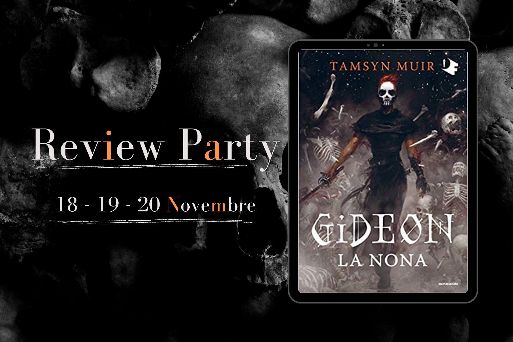 Review Party - Gideon la nona di Tamsyn Muir