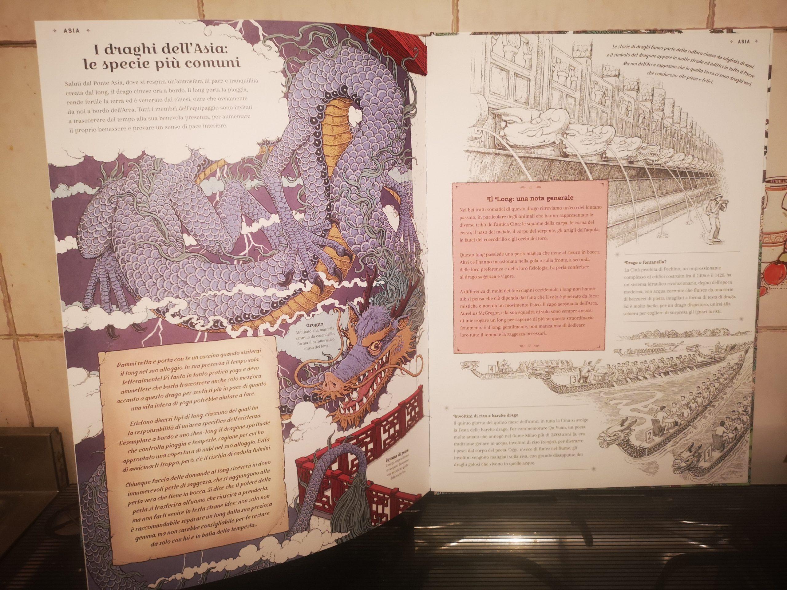 L'arca dei draghi di Curatoria Draconis & T. Tomic