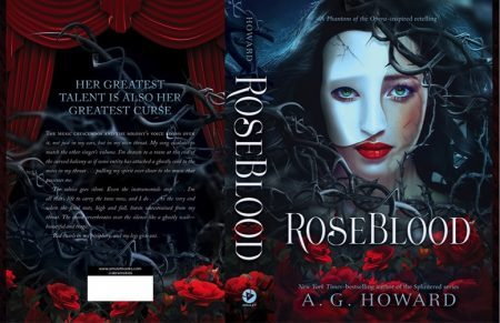 Books Lovers Books Club – Roseblood by A. G. Howard #1