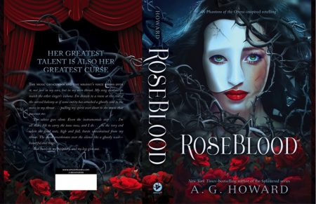Books Lovers Books Club - Roseblood by A. G. Howard #1