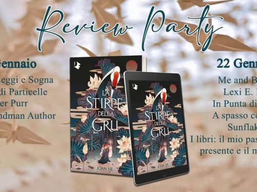 Review Party – La stirpe della gru di Joan He