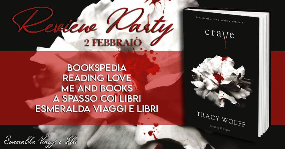 Review Party - Crave di Tracy Wolff