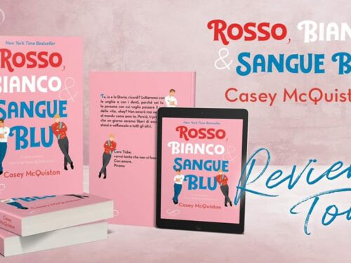 Review Party – Rosso, bianco e sangue blu di Casey McQuiston