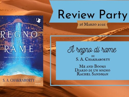 Review Party – Il regno di rame di S. A. Chakraborty