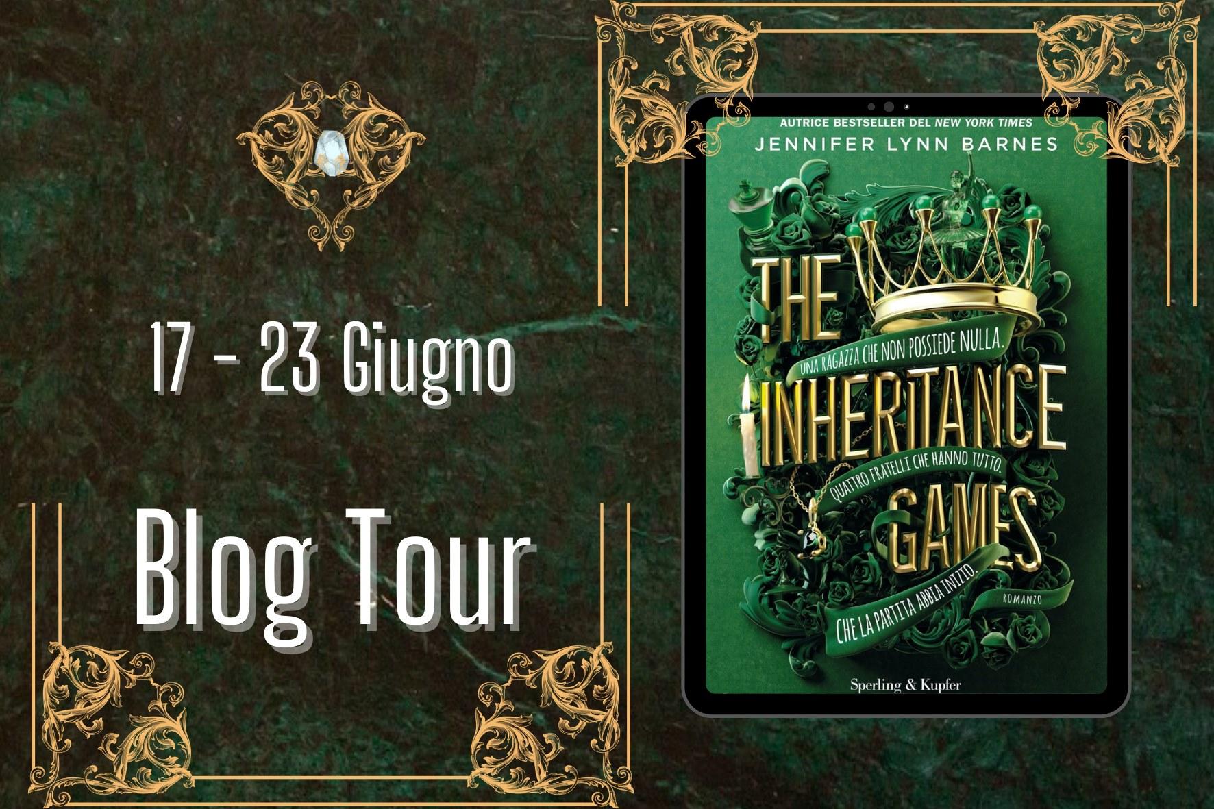 Blogtour - Nash and generosity - The inheritance games by Jennifer Lynn Barnes