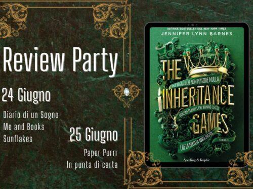 Review Party – The Inheritance Games di Jennifer Lynn Barnes