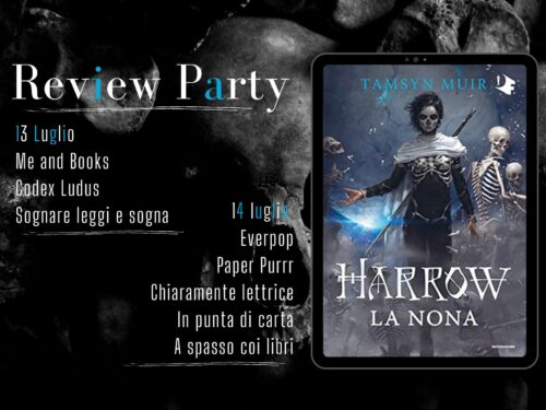 Review Party – Harrow la nona di Tamsyn Muir