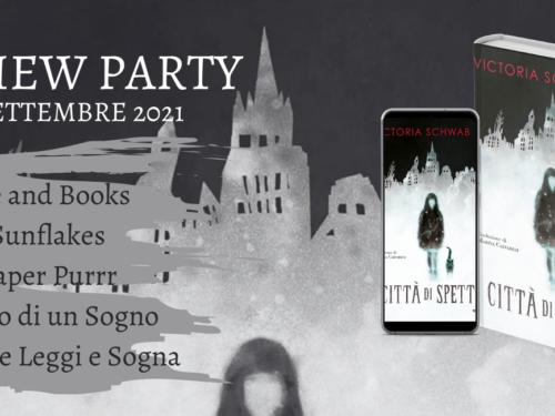 Review Party – Città di Spettri di Victoria Schwab