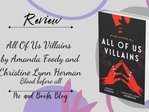 All of us Villains by Amanda Foody & Christine Lynn Herman